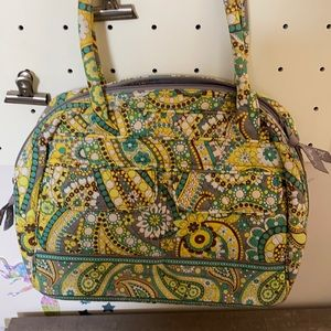 Vera Bradley Lemon Parfait Shoulder Bag Almost Brand New
